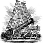 Herschel 40-foot telescope
