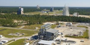 Overzicht van NASA's Stennis Space Center