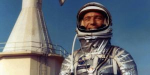 De Amerikaanse astronaut Scott Carpenter