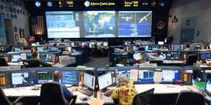 NASA's Mission Control Center in Houston