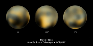 Pluto gezien door de Hubble Space Telescope
